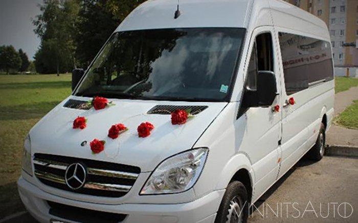 Аренда Mercedes Sprinter на свадьбу Винница