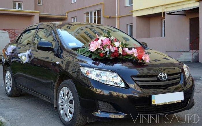 Аренда Toyota Corolla на свадьбу Винница