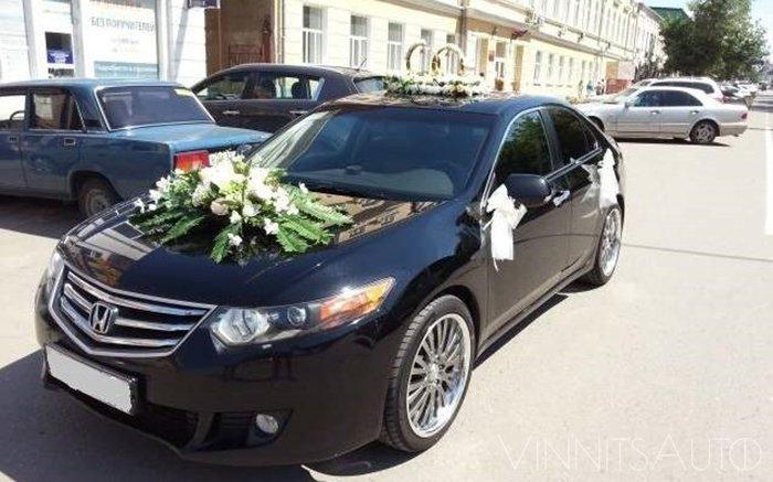 Аренда Honda Accord на свадьбу Винница