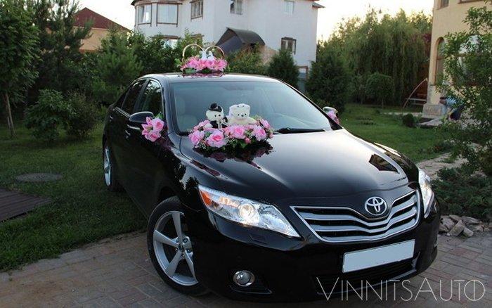 Аренда Toyota Camry 40 на свадьбу Винница
