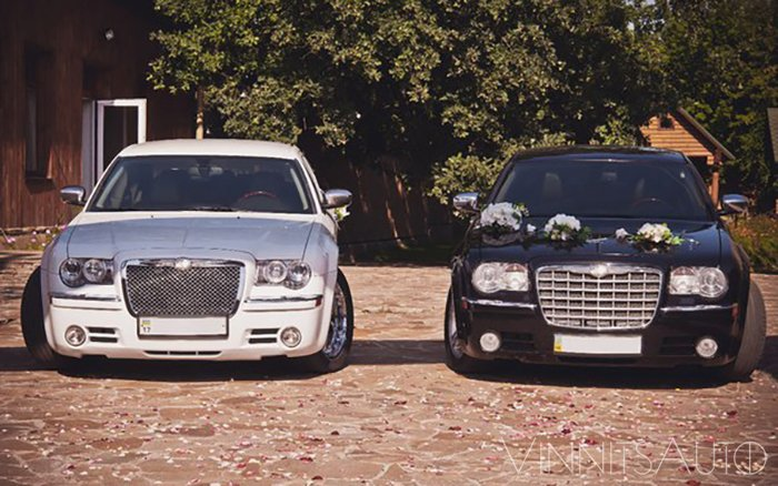 Аренда Chrysler 300C на свадьбу Винница