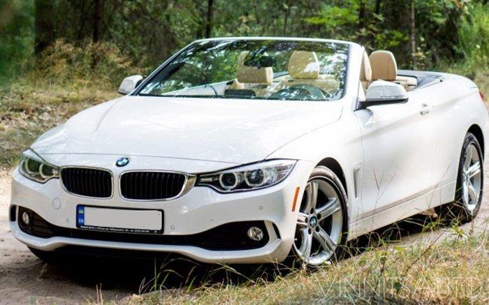 Аренда Кабриолет BMW 428 на свадьбу Винница