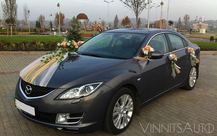 Аренда Mazda 6 на свадьбу Винница