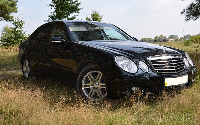 Аренда Mercedes E-Class W211 на свадьбу Винница