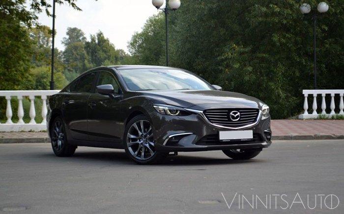 Аренда Mazda 6 New на свадьбу Винница