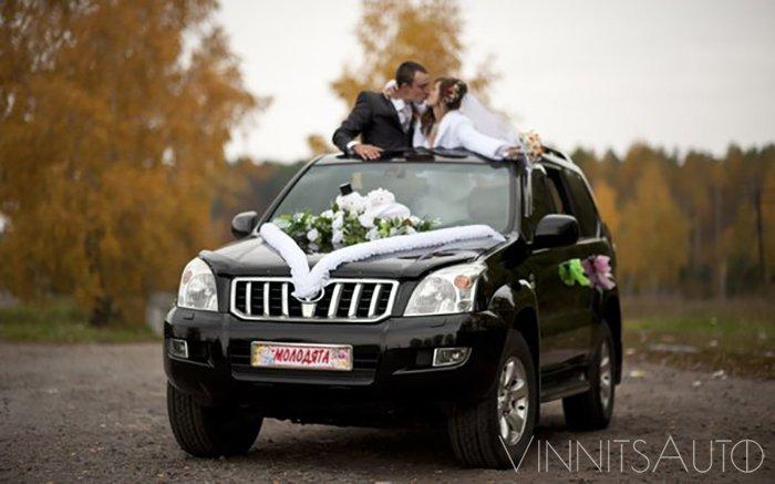 Аренда Toyota Prado на свадьбу Винница