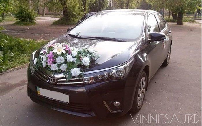 Аренда Toyota Corolla New на свадьбу Винница