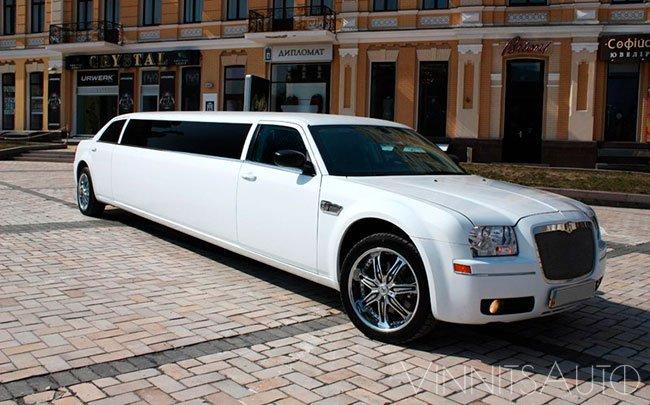 Аренда Лимузин Chrysler 300C на свадьбу Винница