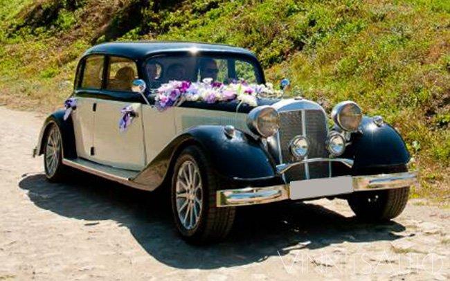 Аренда Mercedes 230 на свадьбу Винница