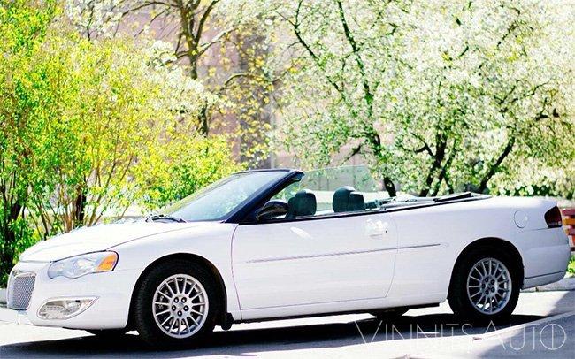 Аренда Кабриолет Chrysler Sebring на свадьбу Винница