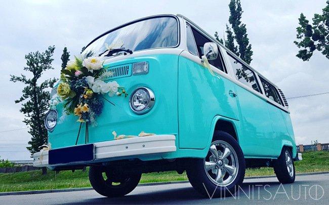 Аренда Микроавтобус Volkswagen T2 на свадьбу Винница