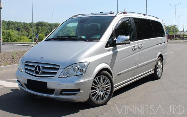 Аренда Микроавтобус Mercedes Viano на свадьбу Винница