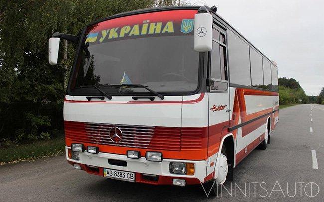 Аренда Автобус Mercedes 33 места на свадьбу Винница