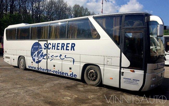 Аренда Автобус Mercedes Tourismo на свадьбу Винница