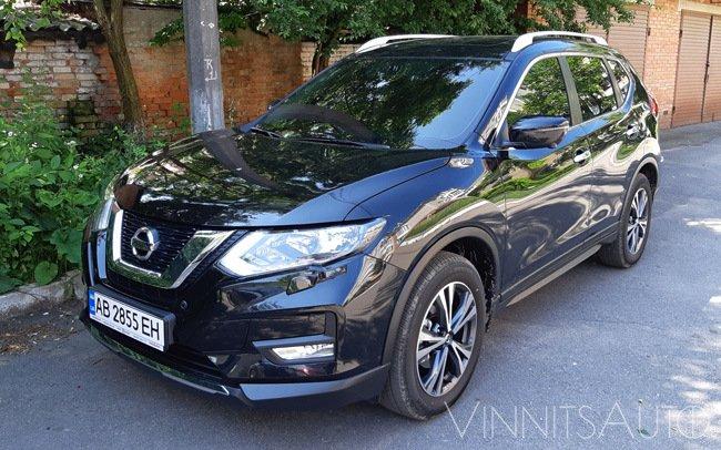 Аренда Nissan X-Trail New на свадьбу Винница