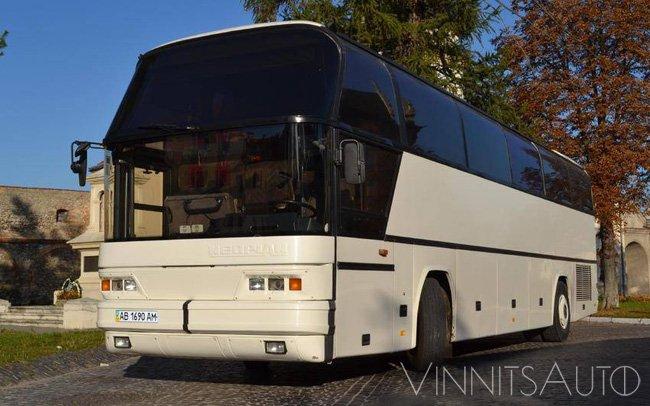 Аренда Автобус Neoplan N 116 на свадьбу Винница