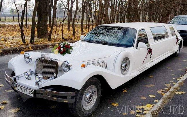 Аренда Лимузин Excalibur на свадьбу Винница