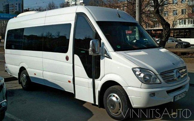 Аренда Микроавтобус Mercedes Sprinter 519 VIP на свадьбу Винница